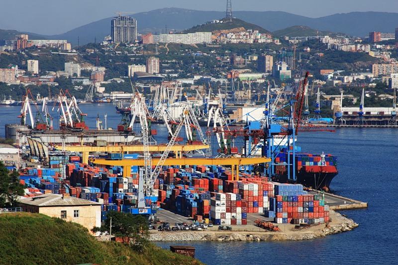 Владивостокский контейнерный терминал